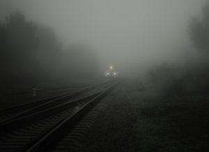 Gloomy fog...